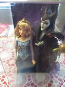 Disney Fairytale Maleficent And Aurora Doll Designer Collection Limited Edition