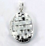 Sterling Silver Lockets Collection 2 .925 Pure Silver