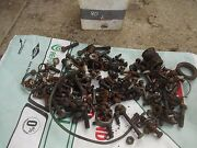 1940 John Deere L Tractor Jd Box Of Misc Bolts Nuts Parts Pieces Clamps