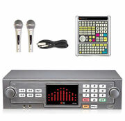 Taijin Tj Media Tkr-365hk Home Korean Karaoke Machine - Wire 2mic + Big Remote