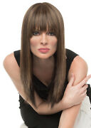 Taryn Wig By Envy, All Colors Envyhair Blend, Mono Top New
