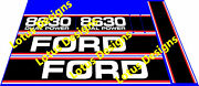 Ford 30 Series Tractor Stickers / Decals