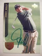 Jerry Kelly Signed 2004 Upper Deck Golf Card Auto Autographed Madison Wi 19 Ud
