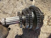 Farmall 560 Tractor Set Of Upper Top Transmission Gears + Main Drive Shaft