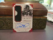 Panini Flawless Ruby On Card Autograph Jersey Steelers Jerome Bettis 06/15 2014