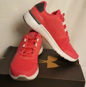 New Under Armour 1285442 692 Micro G Fuel Gala Girls Running Shoes Size 5y