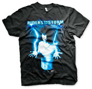 Jim Morrison The Doors Riders On The Storm Pose Official Tee T-shirt Mens Unisex