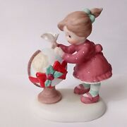 Very Rare Enesco Sisters And Best Friends 742015 Peace On Earth Excellent