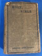Antique The Holy Bible Translated Out Of The Original Tongues 1920