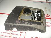 Mcculloch Super Pro 81 Air Filter Cover  Chainsaw Part Only Bin 316