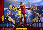Iron Man Mark Iv With Suit-up Gantry Hot Toys Sideshow Collectibles