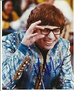 Mike Myers Signed 8x10 Photo Proof In Person Coa Austin Powers