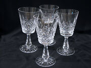 4 Waterford Kenmare 6 Wine Goblet Stems