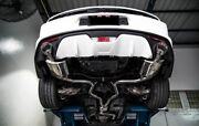 Armytrix Valvetronic Catback Exhaust Dual Tips Mustang Ecoboost 15-18 Tax Back