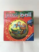Ravensburger Christmas Puzzleball Ornament 60 Pieces New Sealed Gifts Bear Drum