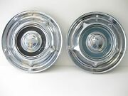 1958 Oldsmobile Hubcaps Very Good 2 1950s Hotrods Cool Car Wall Art Too