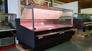 Serve Over Counter 2.5m Meat Fish Diary Display Deli Counter Fridge Brand New