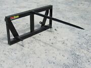 Heavy Duty Hay Spear Attachment Fits Global Quicke Euro Tractor Loader