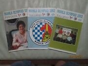 1992 Manila Chess Olympiad Bulletins - 15 Issues Very Well-preserved