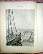 Figaro Expositionc1889honoring Opening Of Eiffel Tower Rare And Collectable