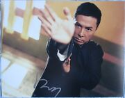 Donnie Yen Signed 11x14 Inch Photo Dc/coa Ip Man Proof A