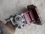 Farmall International 706 Tractor Good Working Hydraulic Pump Assembly And Gear Andc
