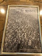 Vintage Photo 10/19/1909 The Index Forbes Field World Championship Series