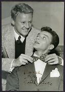 Vintage Frank Sinatra Best Wishes Signed Photo Mid 1940s - Autograph Signature