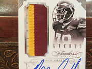 Panini Flawless Autograph Jersey Greats Redskins Auto Bruce Smith 20/25 2014