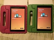 Kindle Fire Hd 8 2018 With Shock Proof Case.