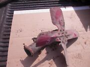 Farmall C Tractor Front Engine Ih Fan Blade Belt Pulley Bracket And Nut C
