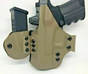 Us Made Premium Concealment Express Iwb Kydex Light Bearing Holster W/ Side Mag