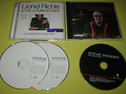 Lionel Richie The Definitive Collection And Stevie Wonder Ballad Collection 2 Cds