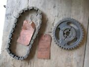 Nos Chevy 396 Hp Engine Timing Chain And Camshaft Sprocket