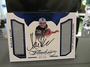 Panini Flawless On Card Autograph Jersey Raiders Marcus Allen 05/10 2016