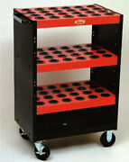 Huot Vdi 30 Taper Tools Triscoot/tool Cart- Holds 72 Toolholders