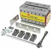 Earth-chain Ecb-120 7.3x4.2x4.2 Magvise Permanent Magnetic Vise For Cnc Mill