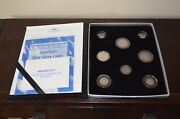 6 Silver 2 And 8 Reales 1771 1783 1887 1765 1816 1842 America's First Silver Coins