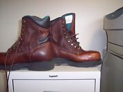 Carolina Comfort Crafted Footwear Steel Toe Safety Boot Size 8d B