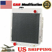 3 Row Aluminum Radiator For 1965-1966 Ford Mustang Falcon 5.0l V8 Engine Swap