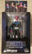 Dc Direct Justice League Sinestro Alex Ross Series 1 Action Figure New In Box