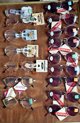 Reading Glasses By Foster Grant Womens/mens Lot Of 16 Nos