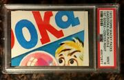 1973 Topps Wacky Packages Gadzooka Gum Puzzle Center Right 1st Psa 9 Mint Card
