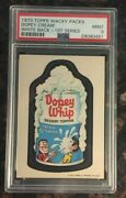 1973 Topps Wacky Packages Dopey Cream 1st Series White Back Psa 9 Mint Card