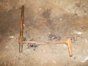 Allis Chalmers Wd Tractor Ac Original Left Brake Pedal And Mounting Rod Pin