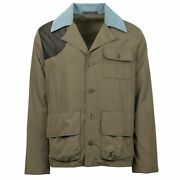 Nwt Caruso Olive Green Cotton Blend Jacket Size 50/40 R 1295