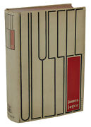 Ulysses By James Joyce First American Edition 1934 1st State Jacket