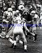 Buffalo Bills Cookie Gilchrist Chargers Bud Whitehead 9-26-1964 8x10 Photo