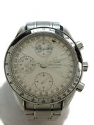 Omega Automatic Analog Stainless Slv From Japan [e0418]