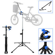 Bicycle Repair Stand Rack 74 Telescopic Arm And 360 Clamps Pro Mending Tools